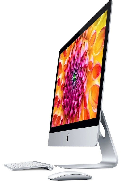 Some new iMacs, including the 21.5-inch iMac, are labeled as 'assembled in USA.'