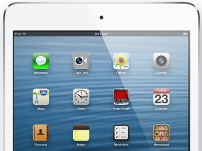 The 9.7-inch  iPad 5 is expected to have narrow side bezels like the iPad Mini.