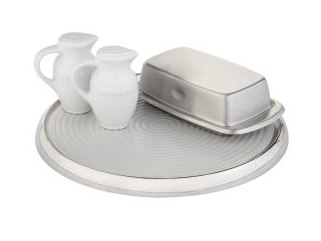 The Stainless-Steel Lazy Susan