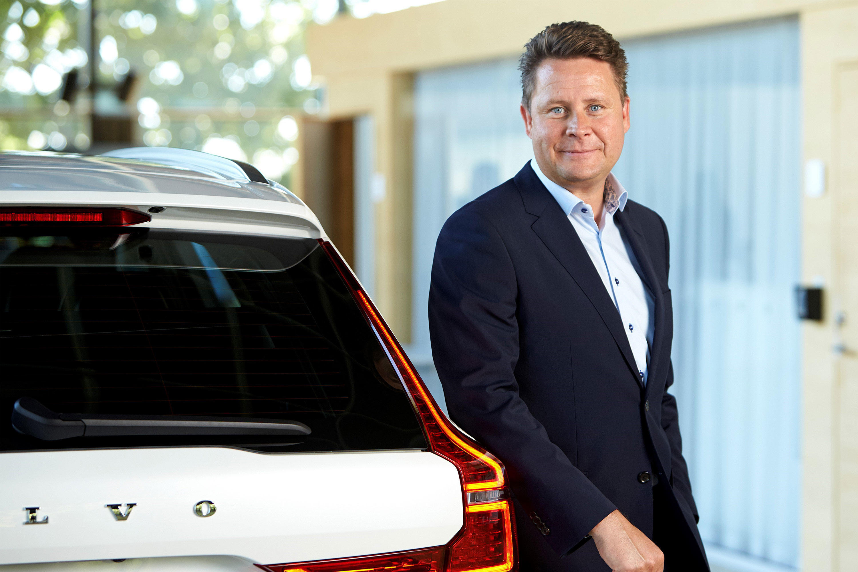 Volvo's Anders Gustafsson