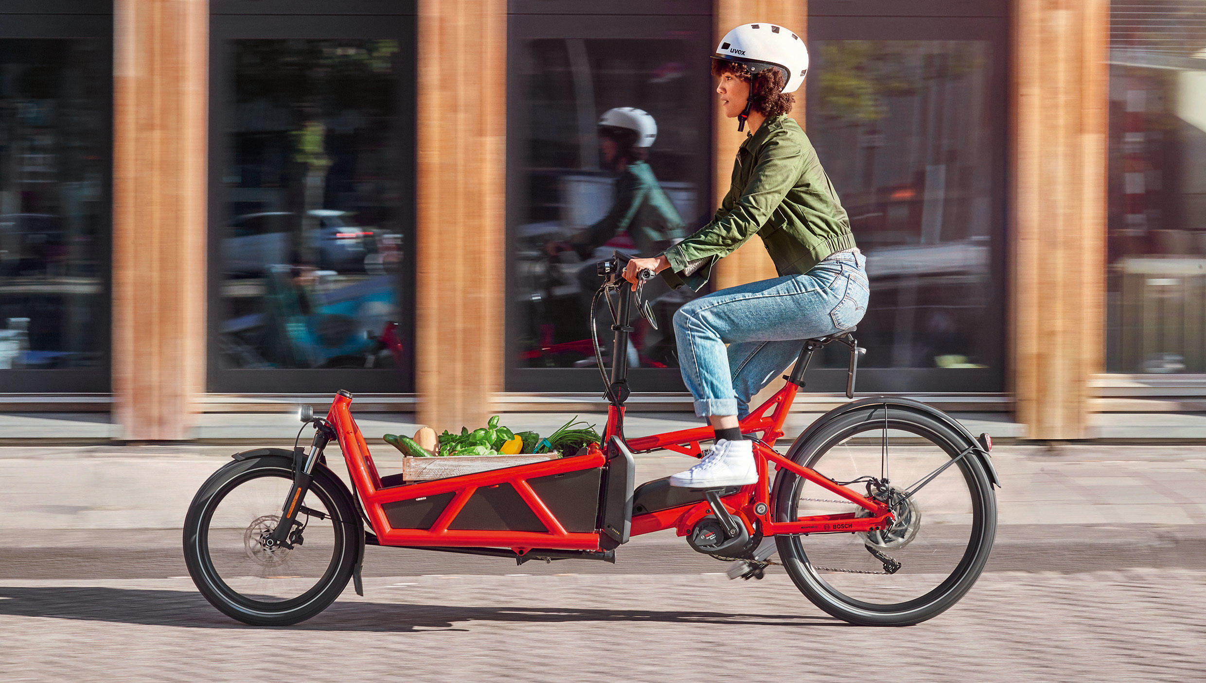 Bosch's new Performance Cargo motor will enable 2020 e-bikes that can handle a load (including the rider) of 550 pounds.