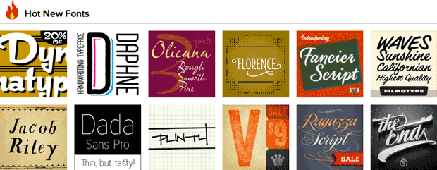 Bitstream's MyFonts site lets people browse, organize, and identify fonts.