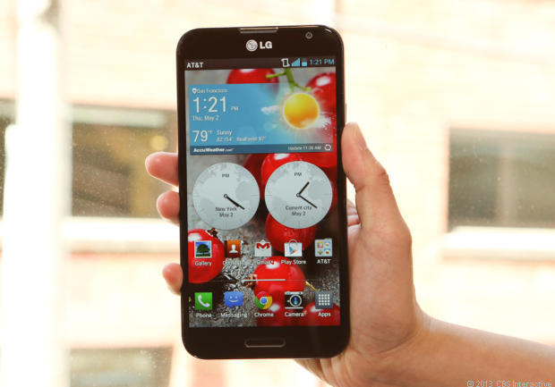 The successor to the LG G Pro is due to arrive next month.