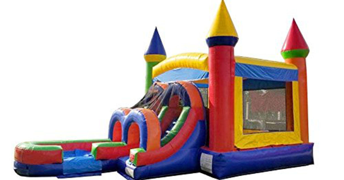 This $2,100 bouncy castle