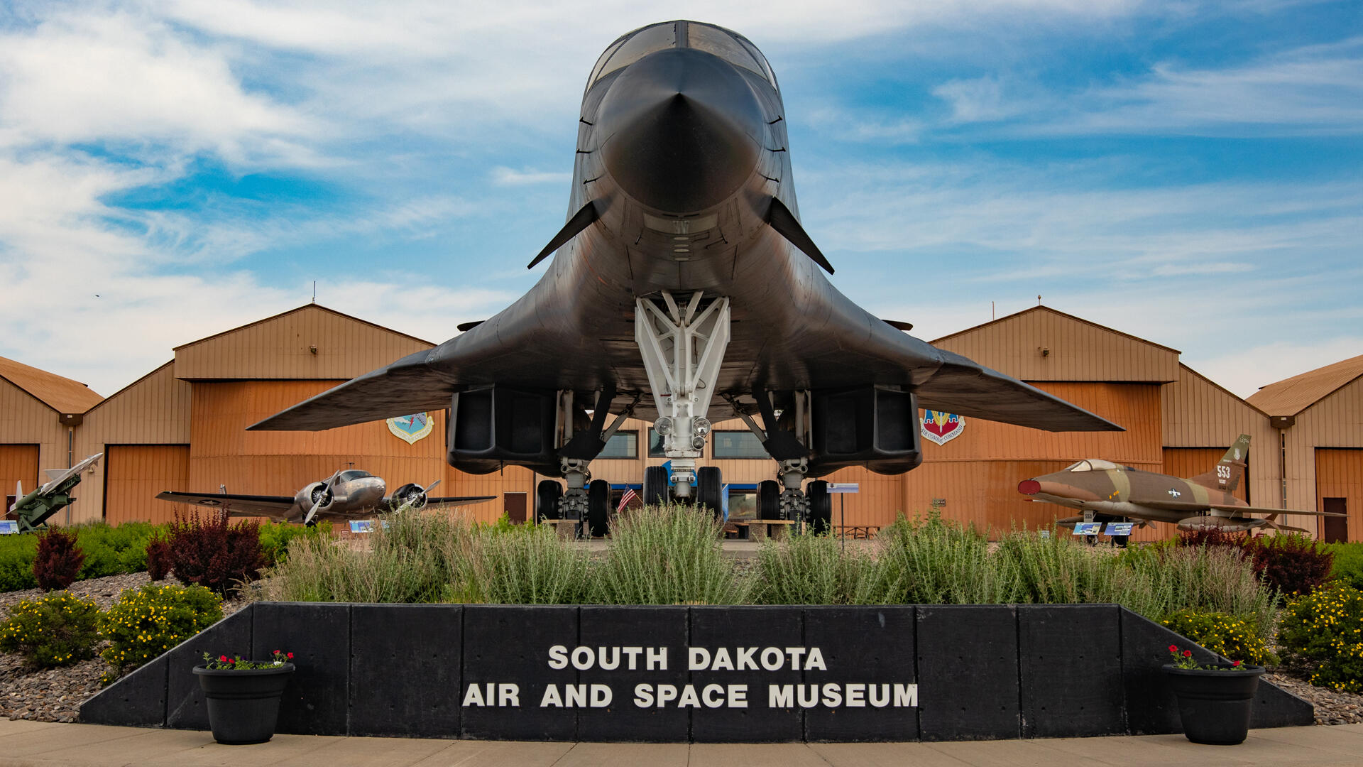 Check out incredible historic aircraft like a B-29, a B-52 and an incredible B-1B at this delightful air museum.
