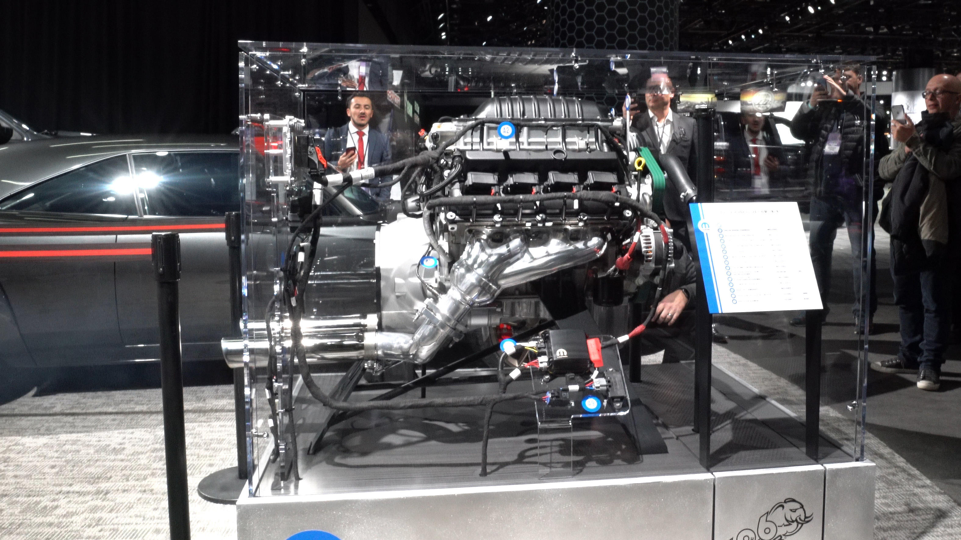 Video: Listen to the 1,000-hp Dodge Hellephant crate engine start up