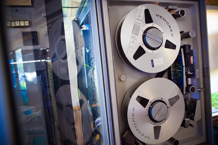 Ampex FR-900 tape drives