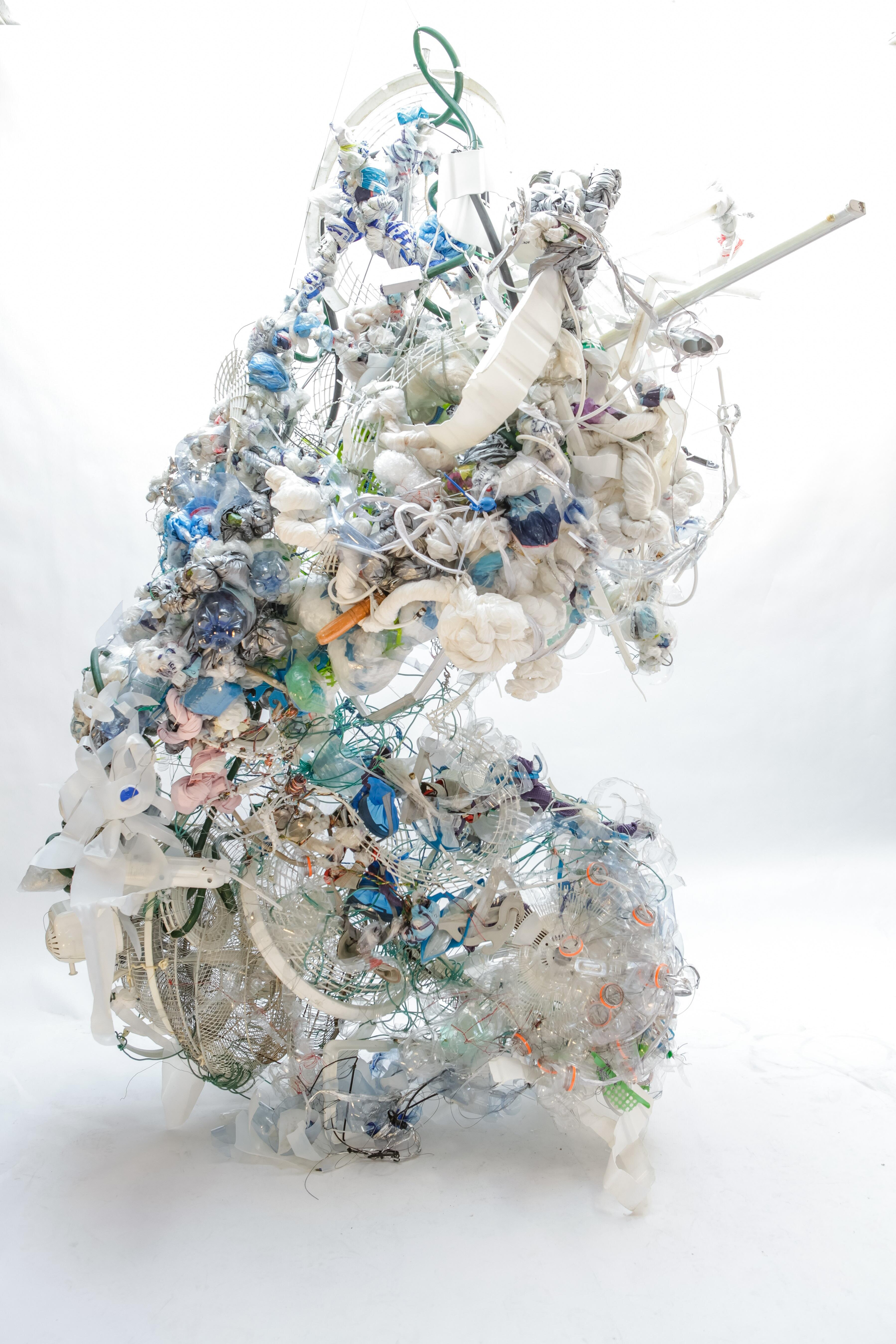 Chad Moore plastic sculpture