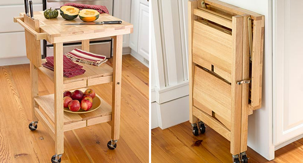 Folding Furniture The Kitchen Island Cnet