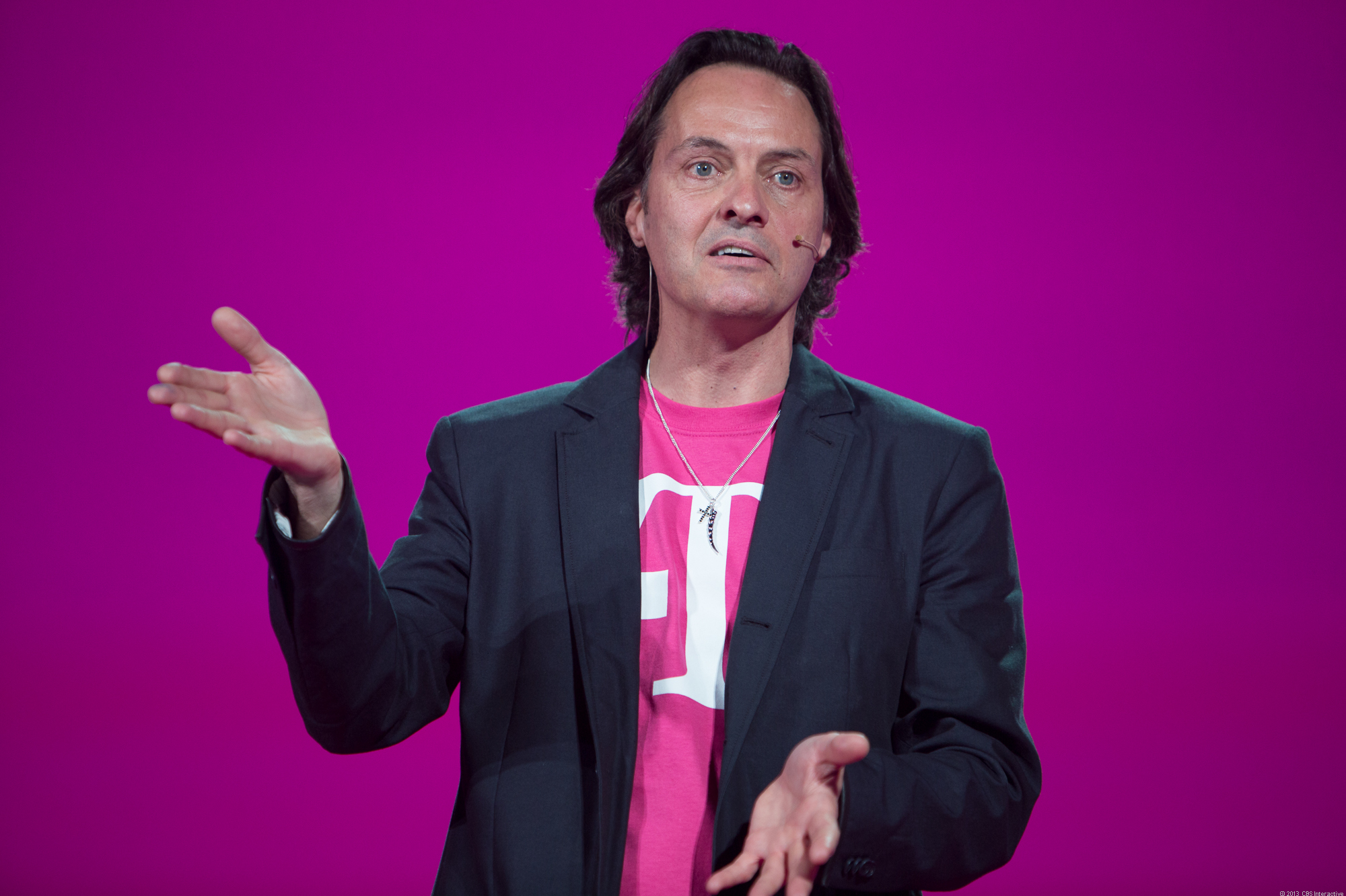 T-Mobile CEO John Legere at March 26, 2013 press conference.