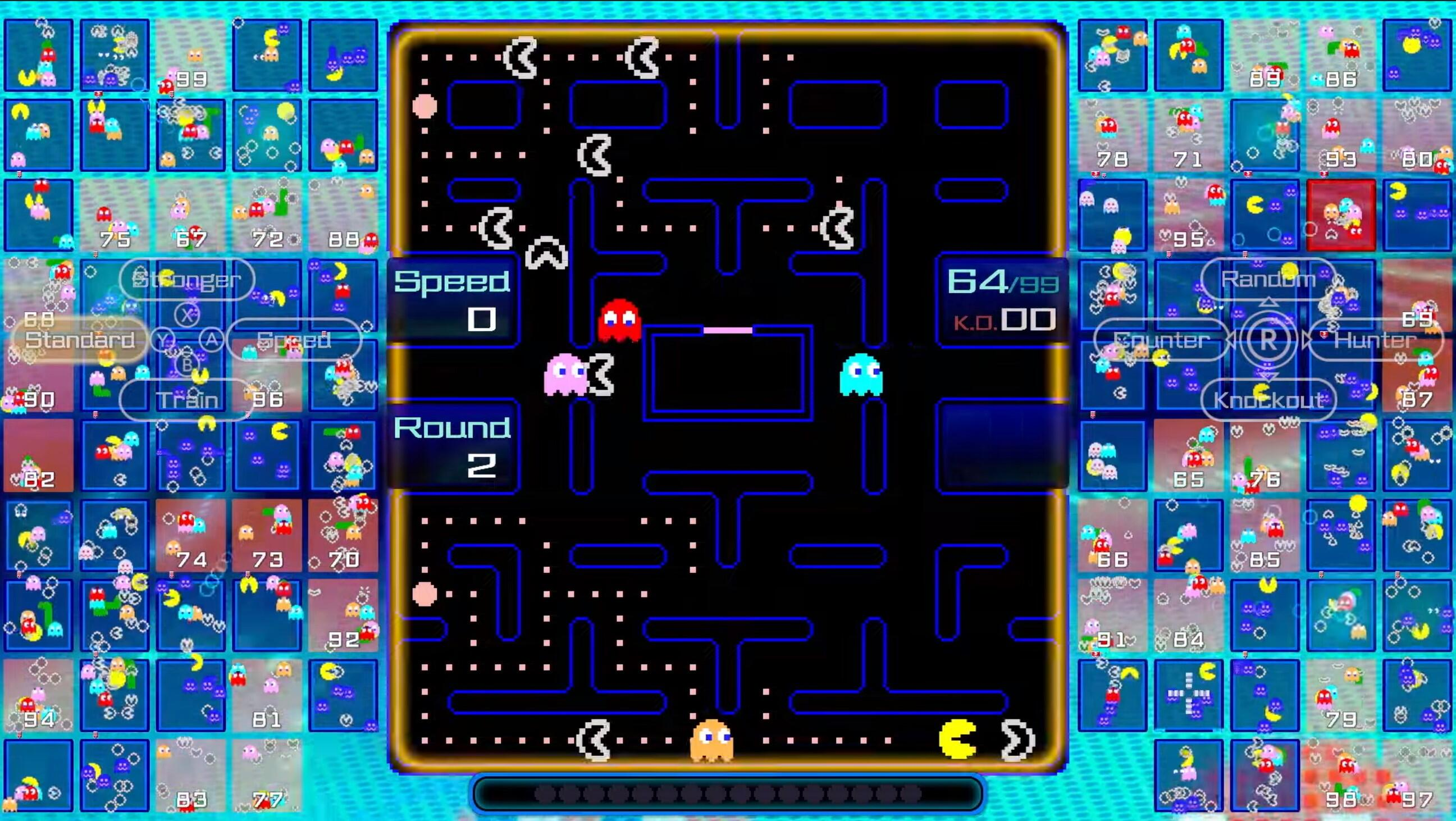 Pac-Man 99 is Nintendo Switch's latest retro battle royale game