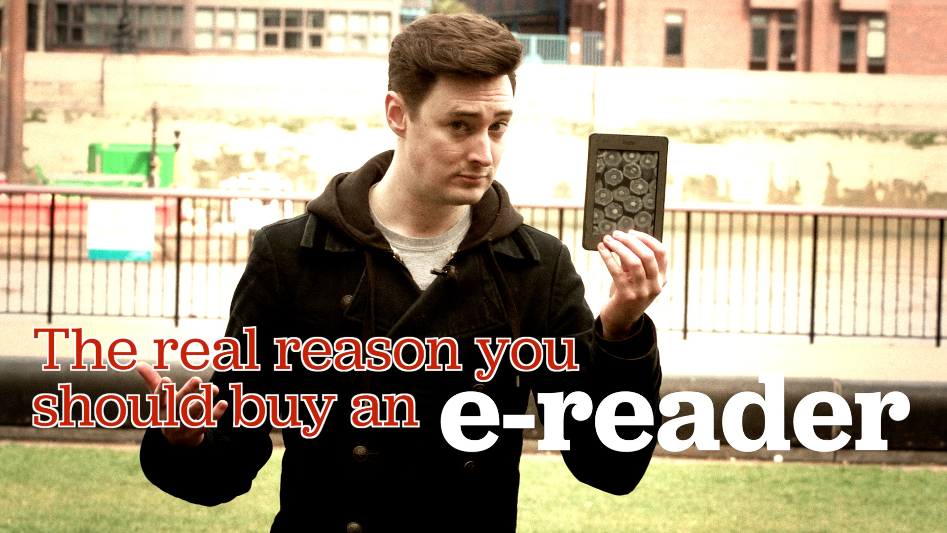 Video: The real reason you should buy an e-book reader