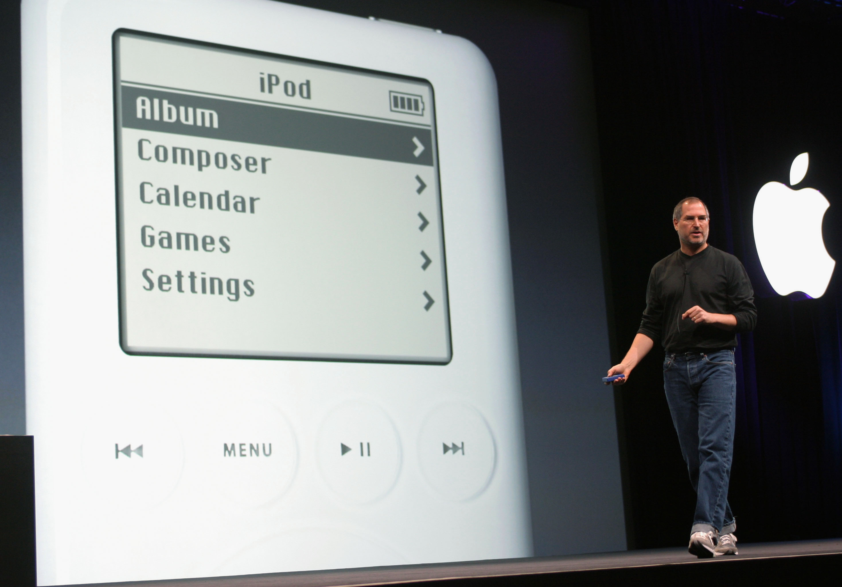 January & October 2001 - iTunes and iPod