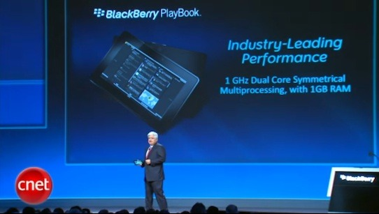 BlackBerry PlayBook will be first of many tablets in 2011 sporting a dual-core processor.