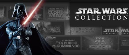 Steam's Star Wars Collection includes 13 games--mostly older stuff, but a few newer titles as well.