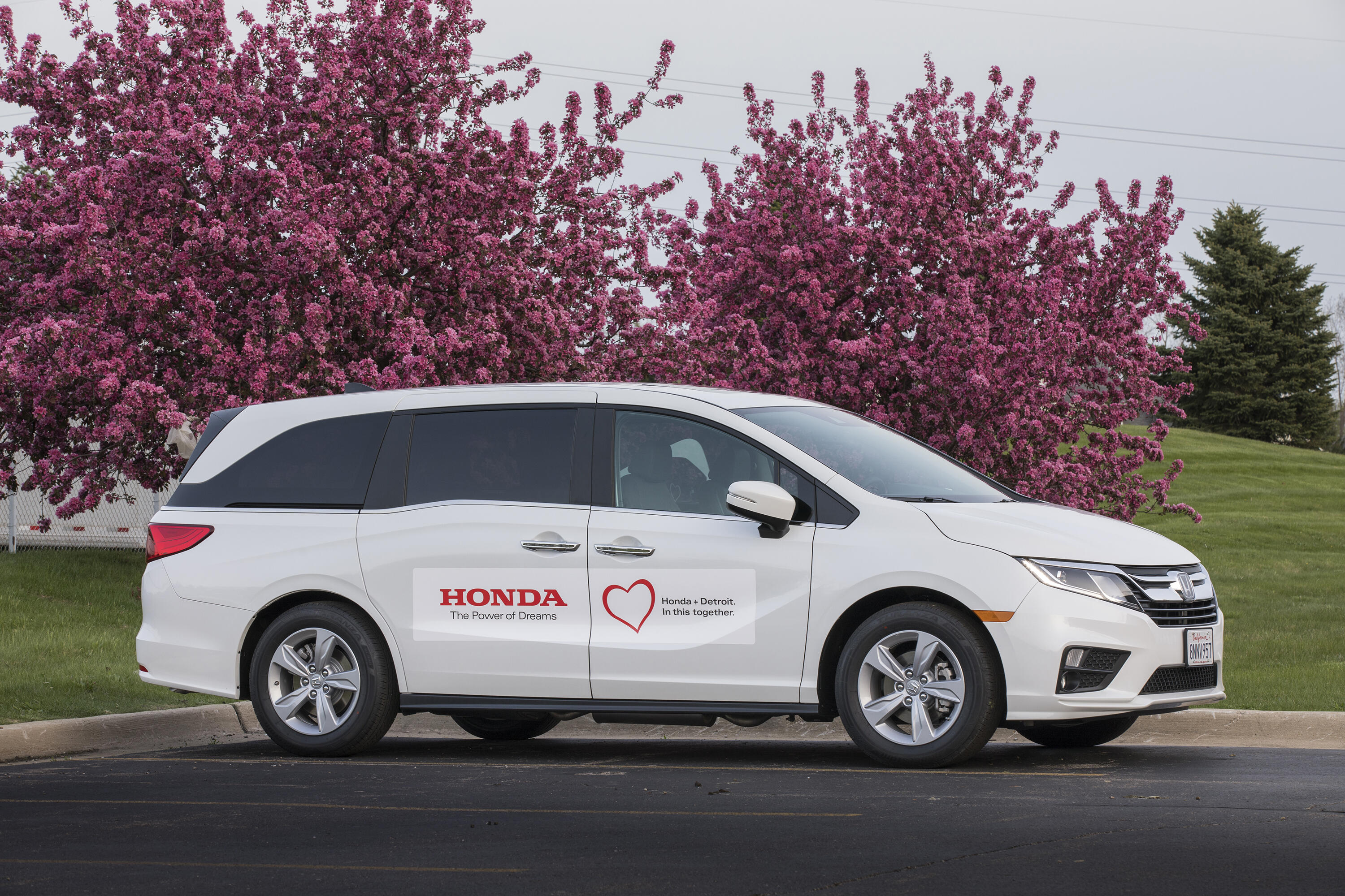 Modified Honda Odyssey for COVID-19 transport
