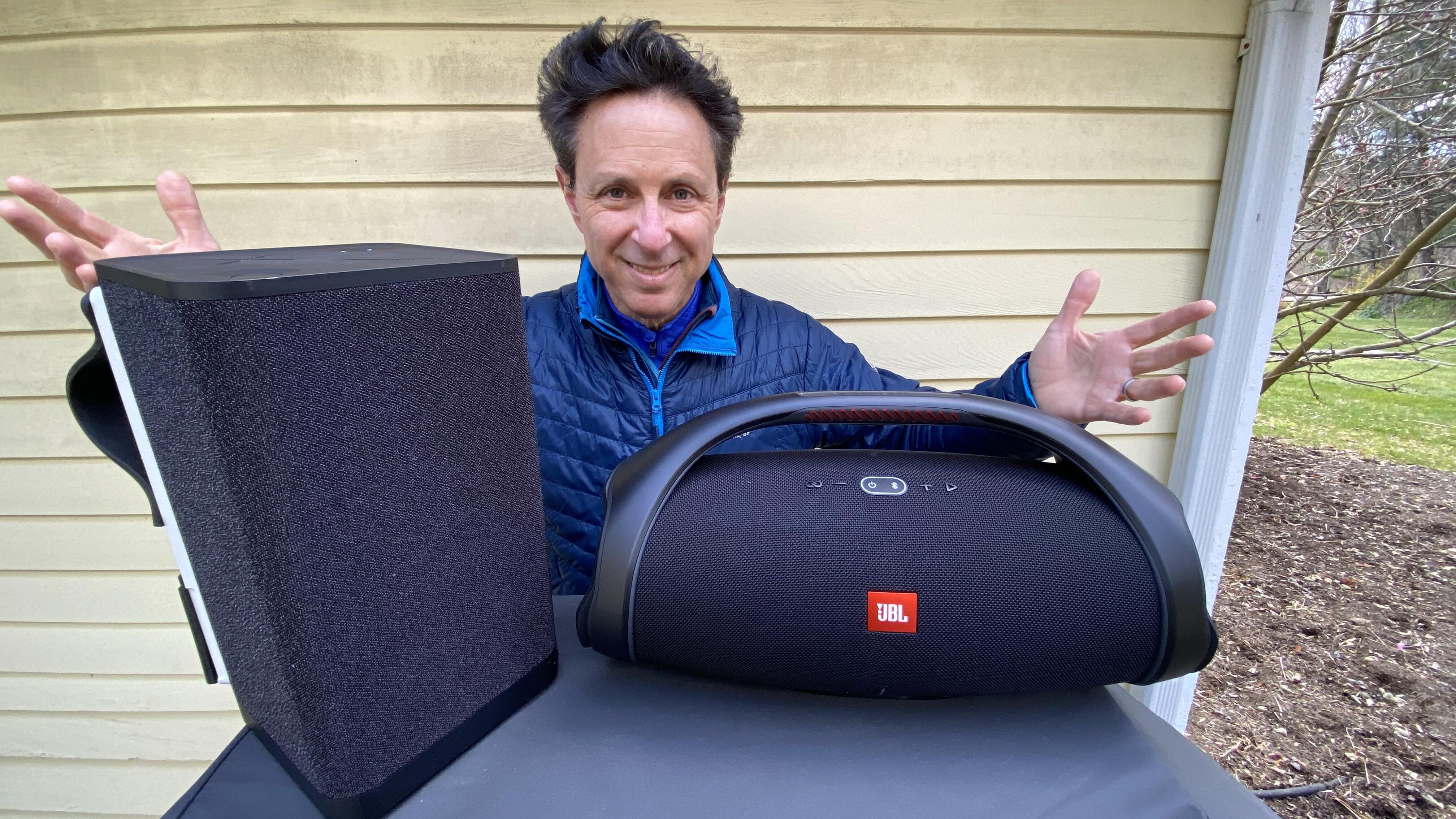 Video: JBL Boombox 2 vs. UE Hyperboom: Battle of the portable Bluetooth beasts