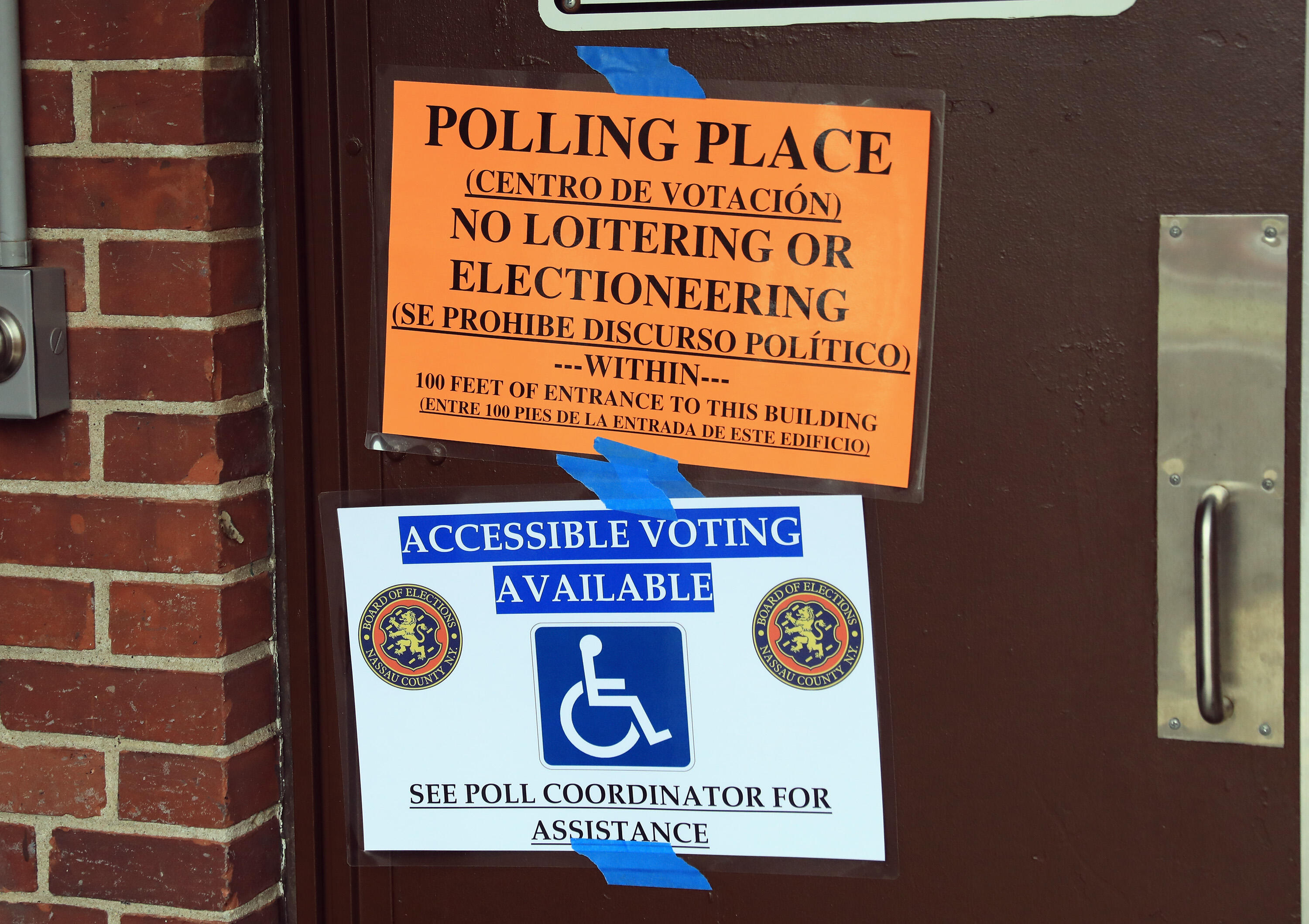 Voting accessibility