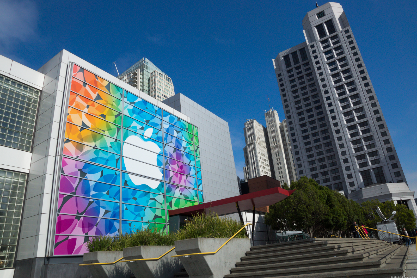 The Yerba Buena Center for the Arts Theater in San Francisco, where Apple's event will take place.