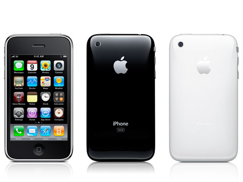 Apple's iPhone 3GS, the last iPhone to go with a plastic back. For now.