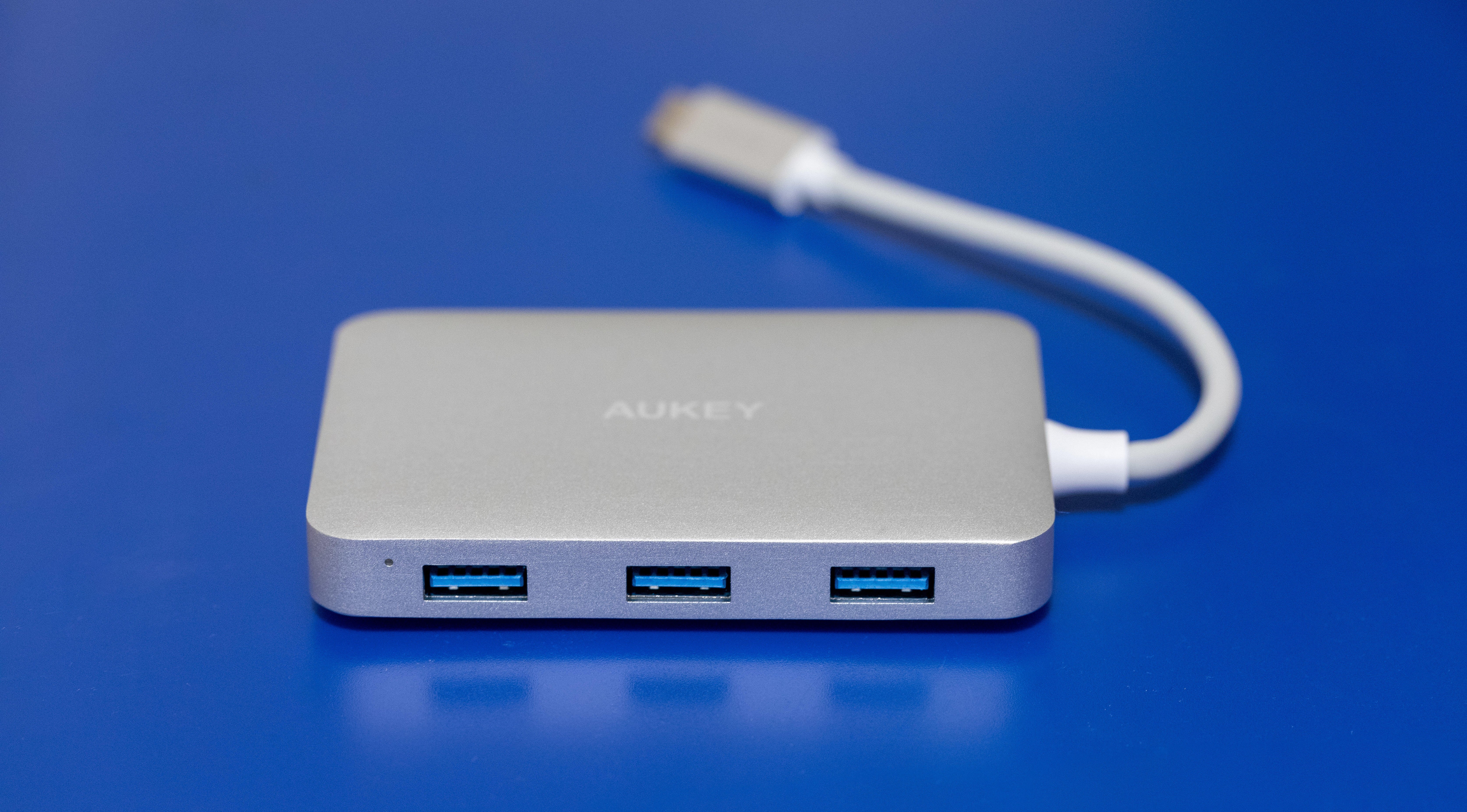 USB hubs are fine today -- as long as you only need old-style USB-A ports like on this Aukey model. USB 4 should allow lots of the more modern USB-C ports.