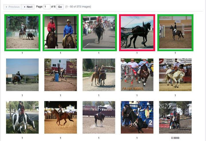 """Facebook AI enables searching by subject matter like """"people riding animal."""""""