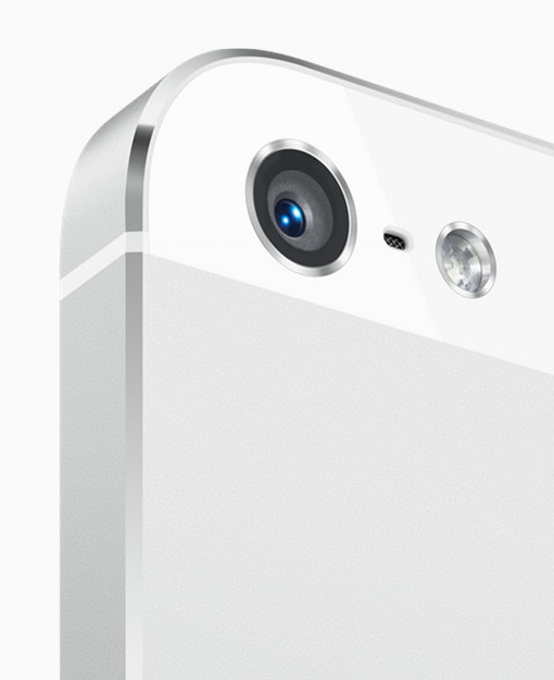 The iPhone 5's camera.