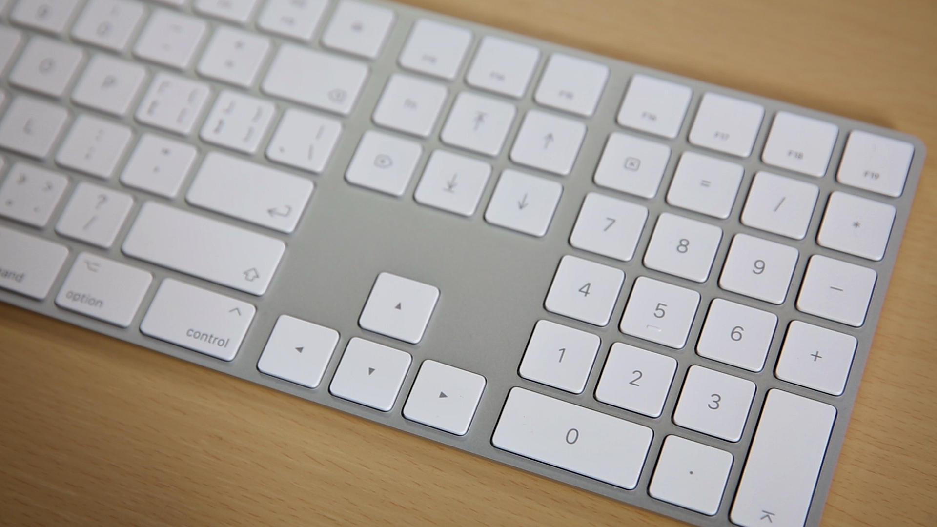 Video: Apple's new by the numbers keyboard