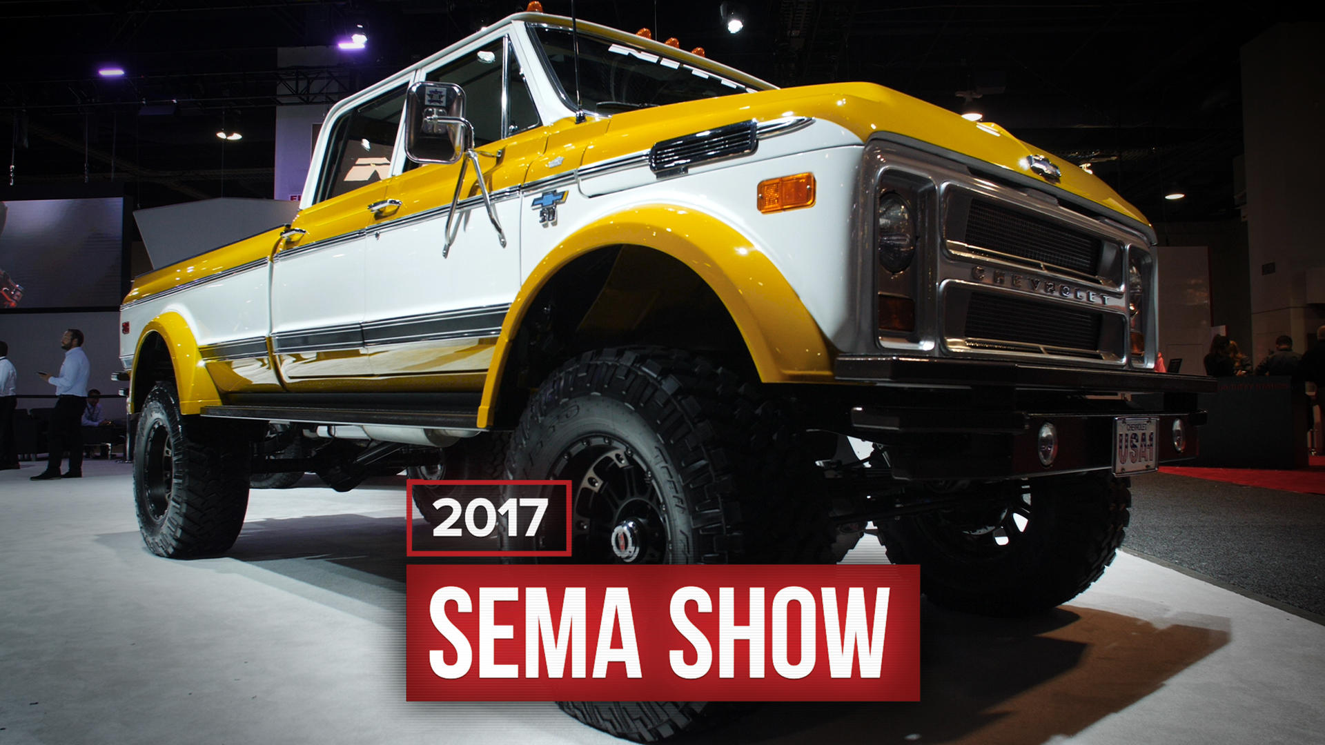 Video: The best and worst lifted trucks we saw at SEMA