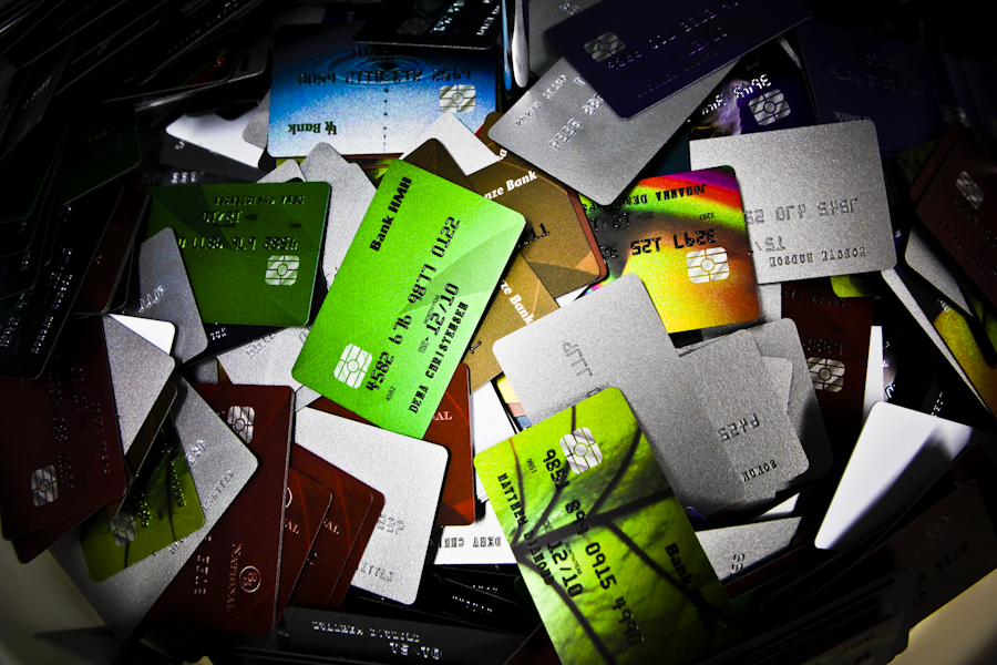 Credit cards for sale