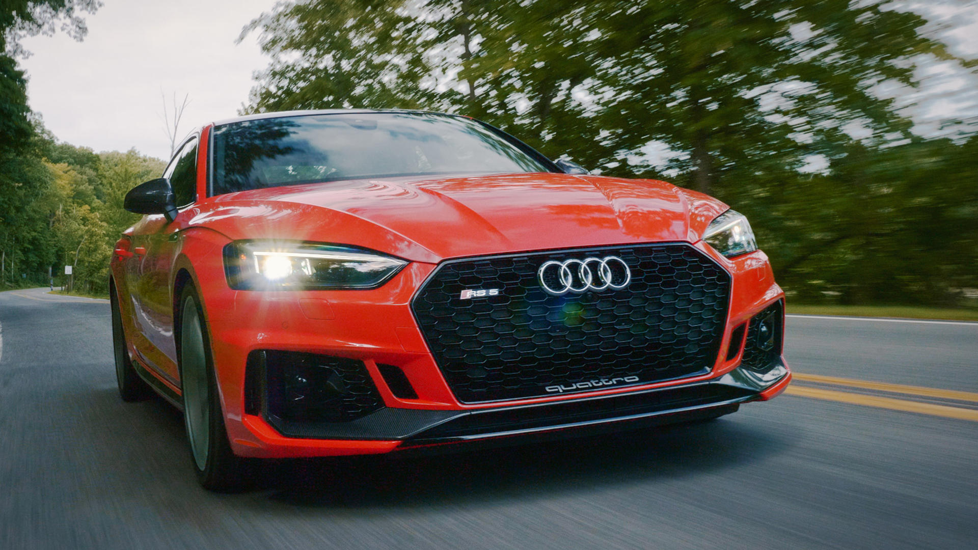 Video: 2019 Audi RS5 Sportback is a goody two-shoes