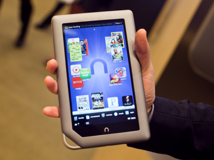 Down to $199 for a limited time, the Nook Tablet stands toe-to-toe with the Kindle Fire.