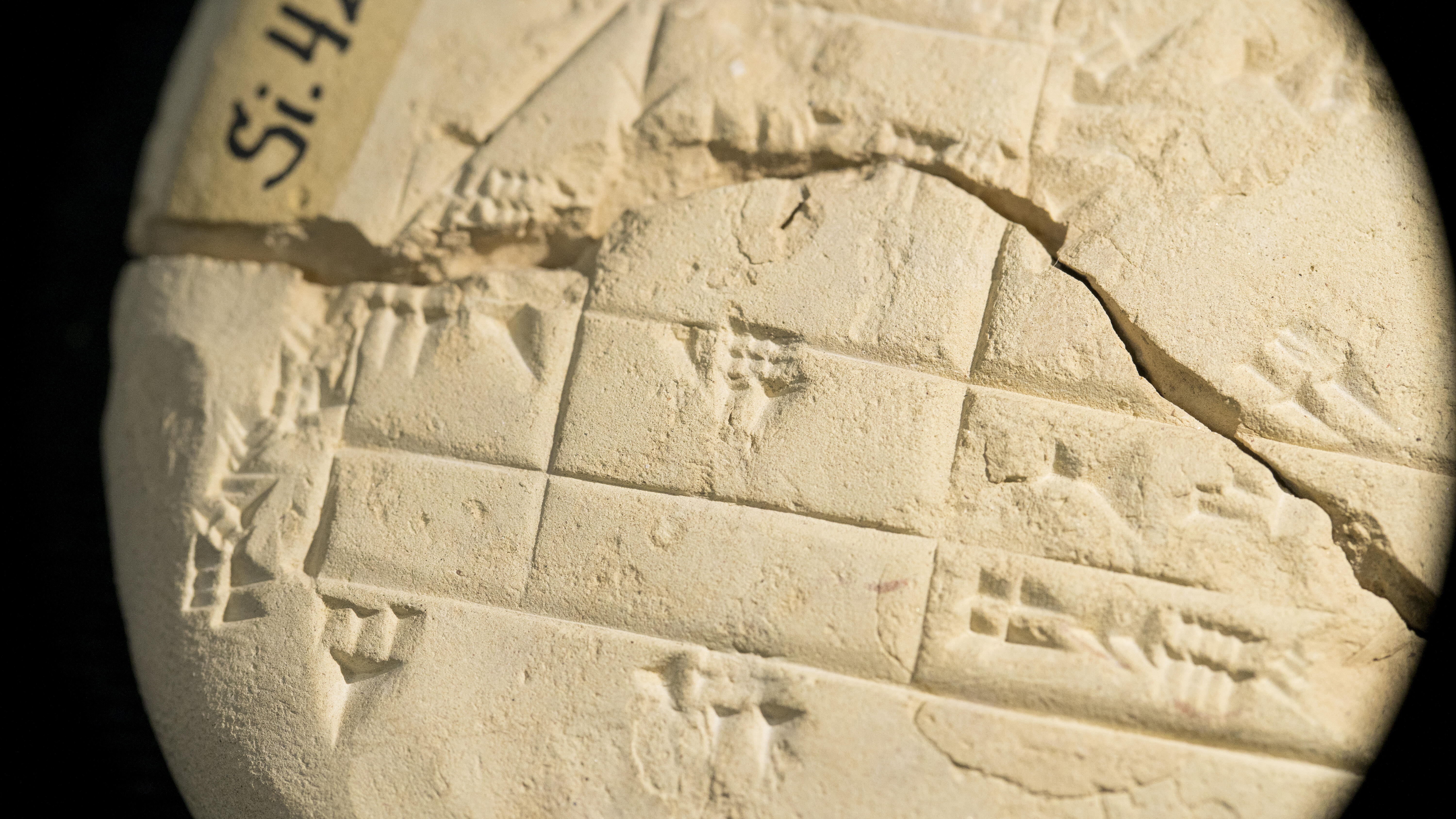 3,700-year-old clay tablet shows we've been using geometry for longer than we realized - CNET