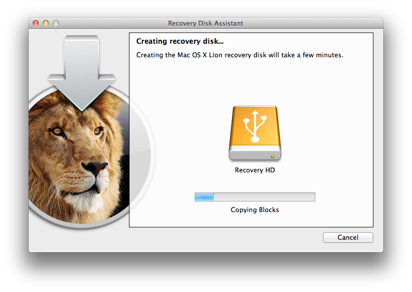 Recovery Disk Assistant