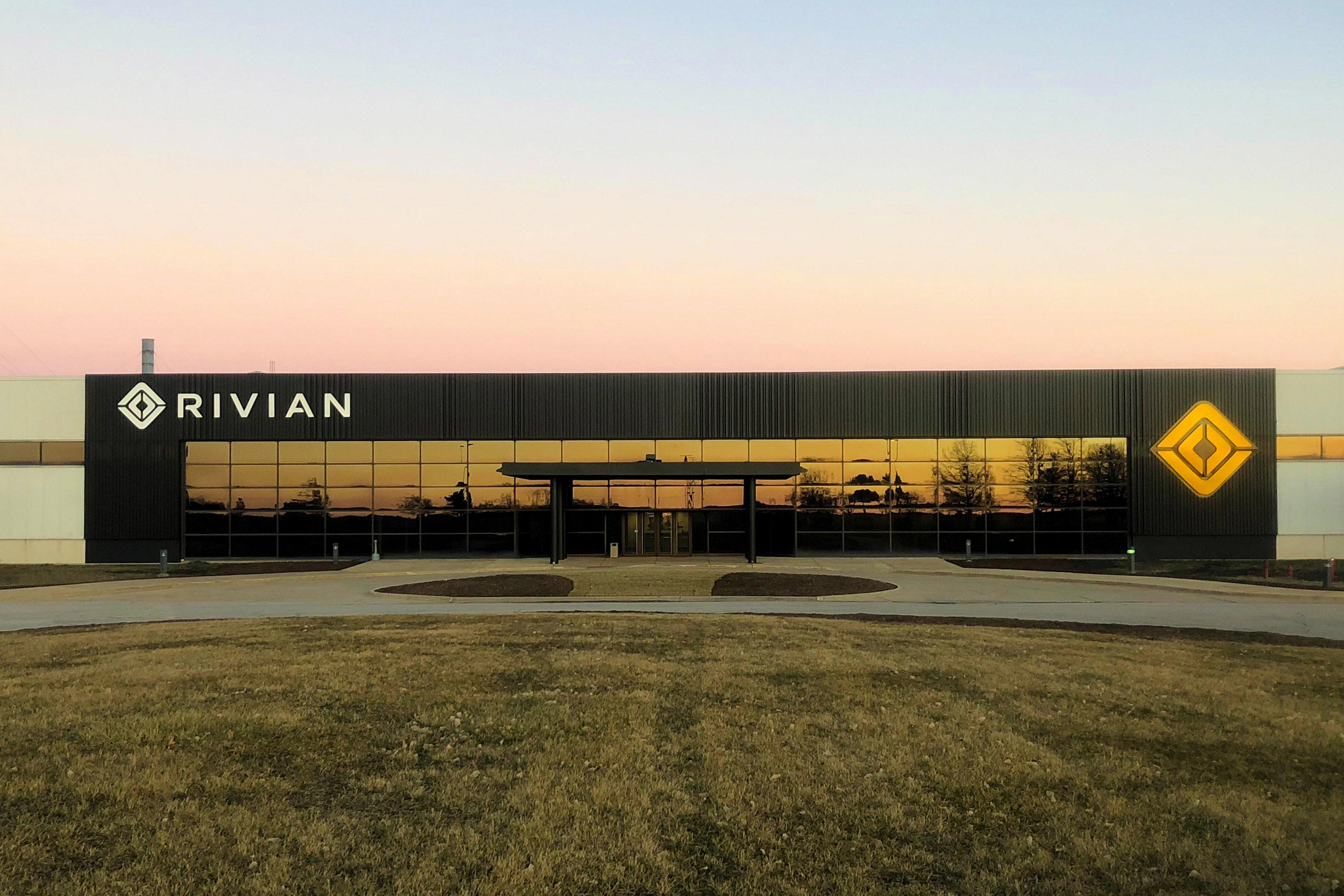 Rivian manufacturing facility in Normal, Illinois