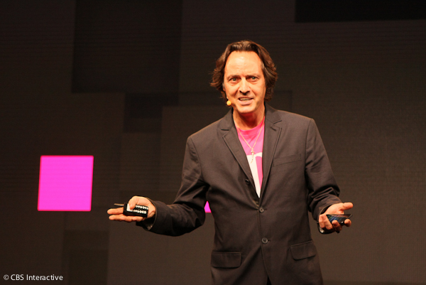 John Legere at T-Mobile event July 10, 2013