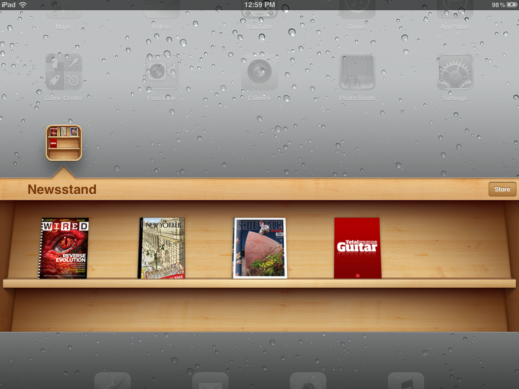 Newsstand for iOS 5