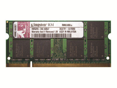 Kingston - DDR2 - module - 1 GB - SO-DIMM 200-pin - 800 MHz / PC2-6400 - unbuffered