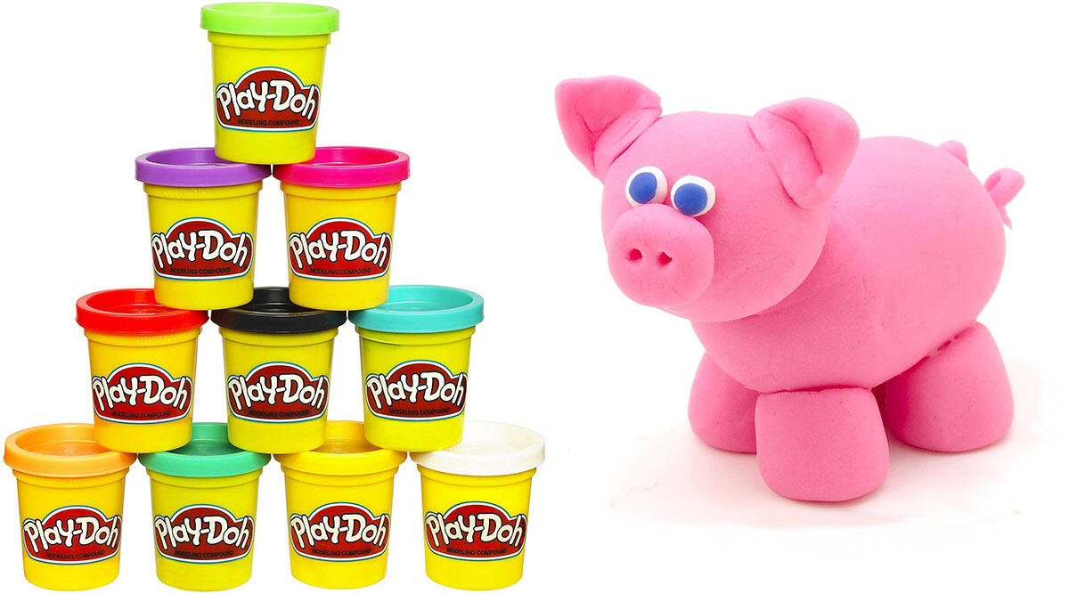 Just 10 cans of Play-Doh