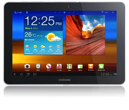 Samsung Galaxy Tab: Tablet's aren't just getting smaller. A 12-incher would be Samsung's largest yet.