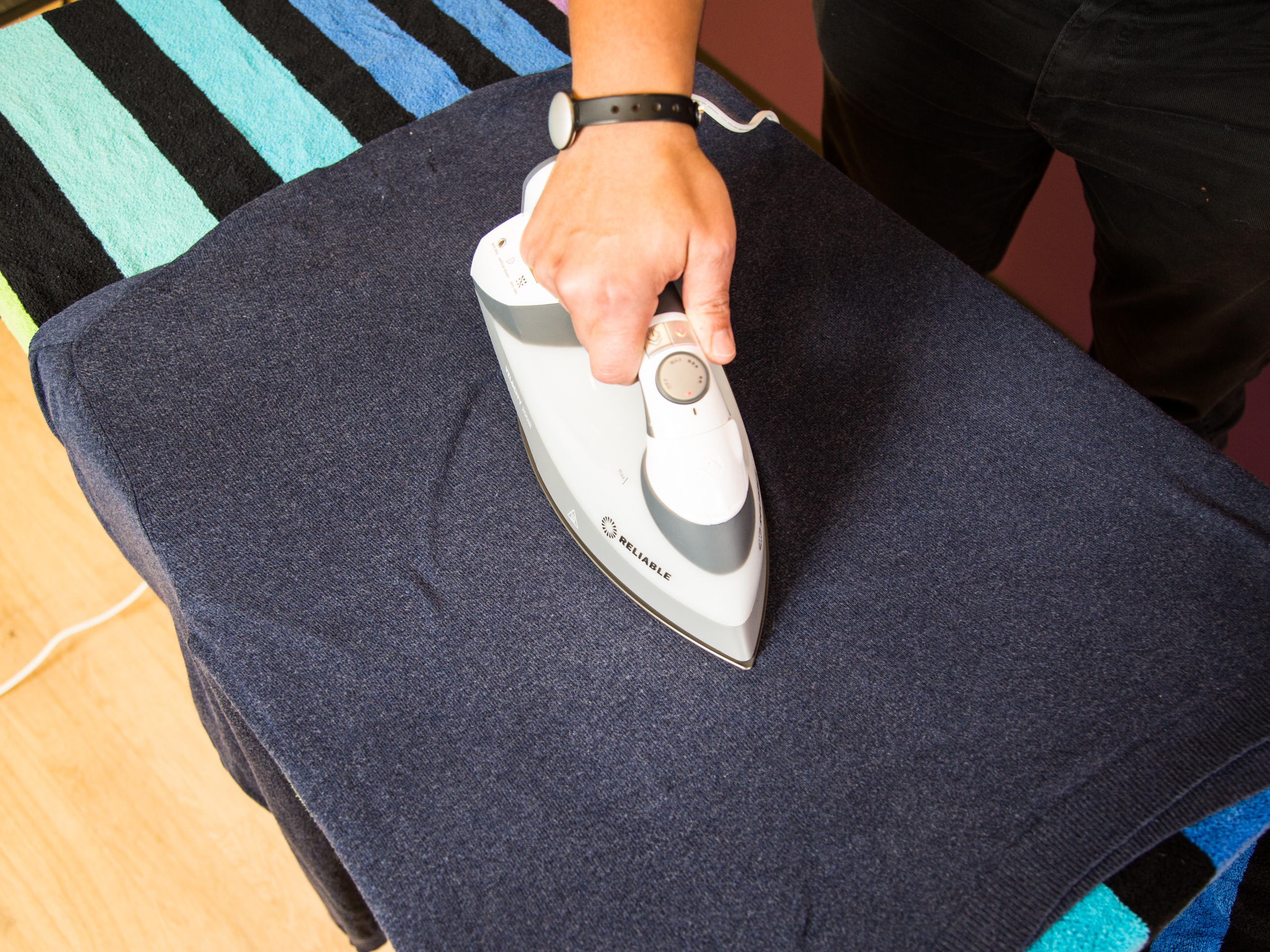 Ironing with ease