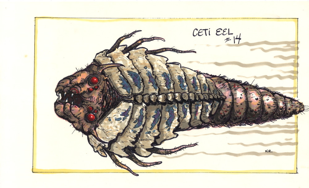 Ceti Eel concept drawing