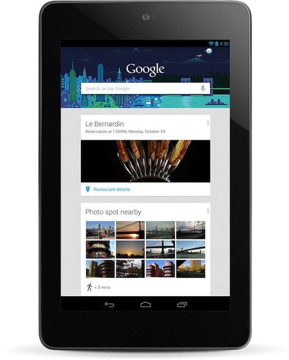 Google may be aiming for a Nexus 7 that is priced below $149 and eventually as low as $99.