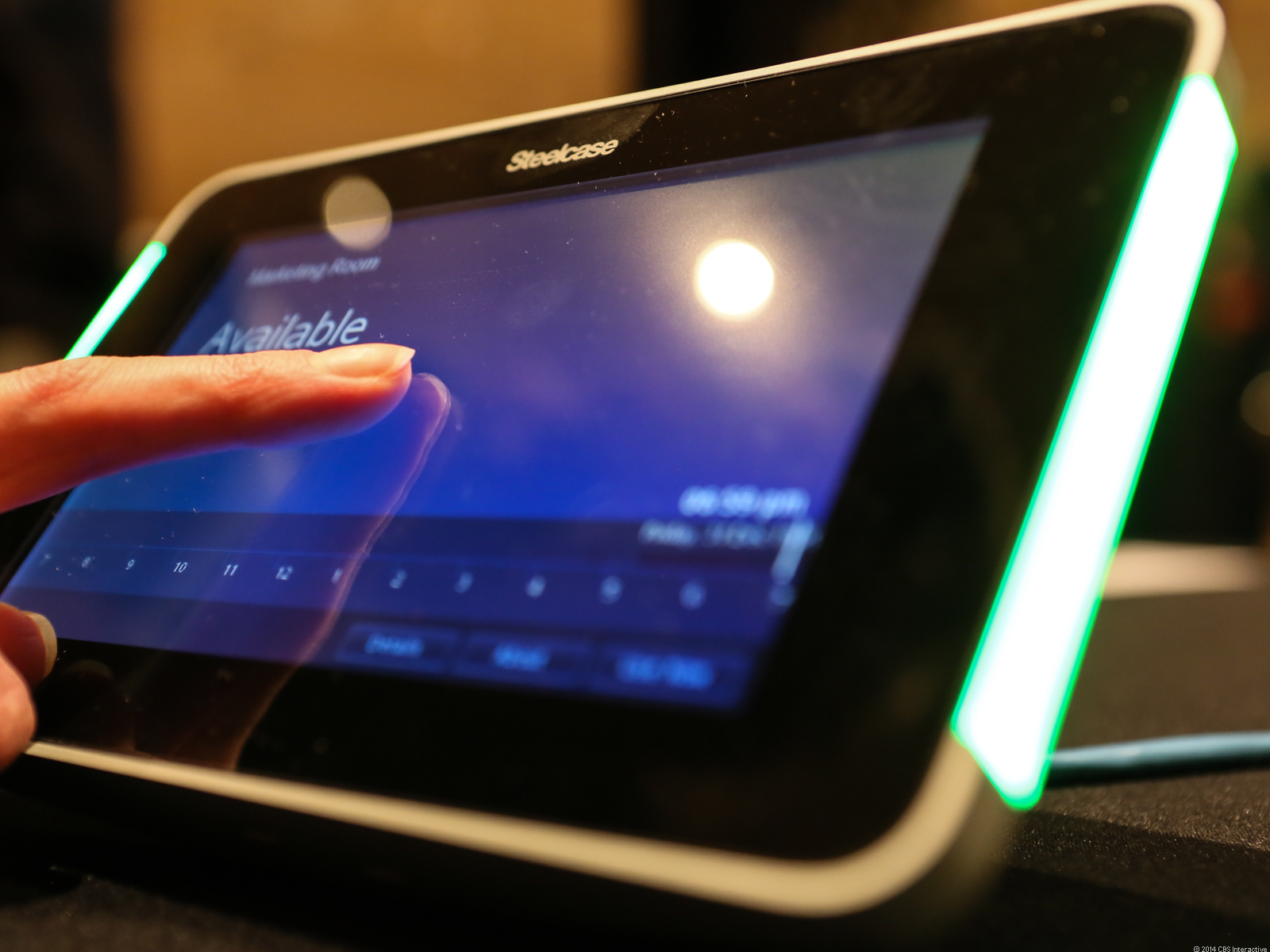 Antimicrobial Corning Gorilla Glass on a device