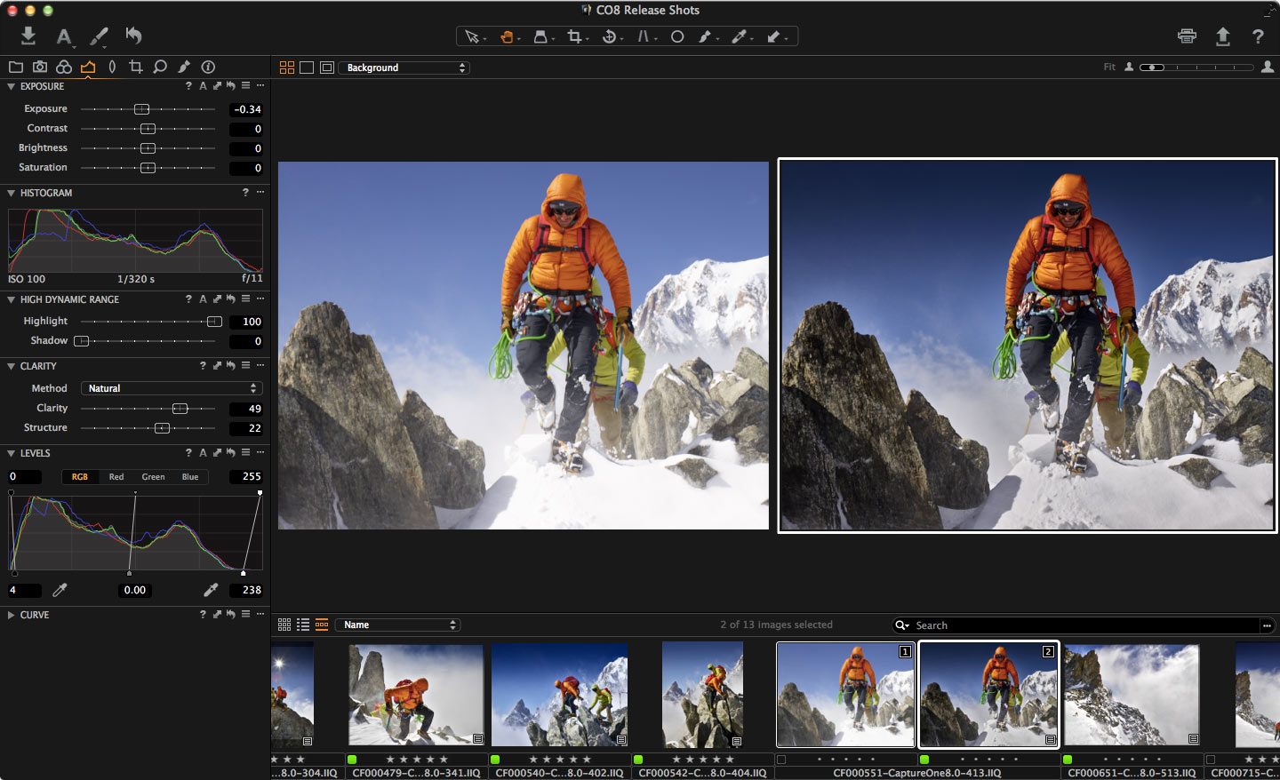 Phase One's new Capture One Pro 8 software gets better at  editing and cataloging images, correcting lens flaws, and attracting people using Apple's now-dormant Aperture.