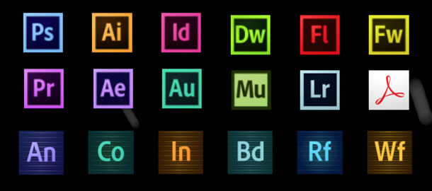 Adobe offers all its software products through the Creative Cloud subscription program.