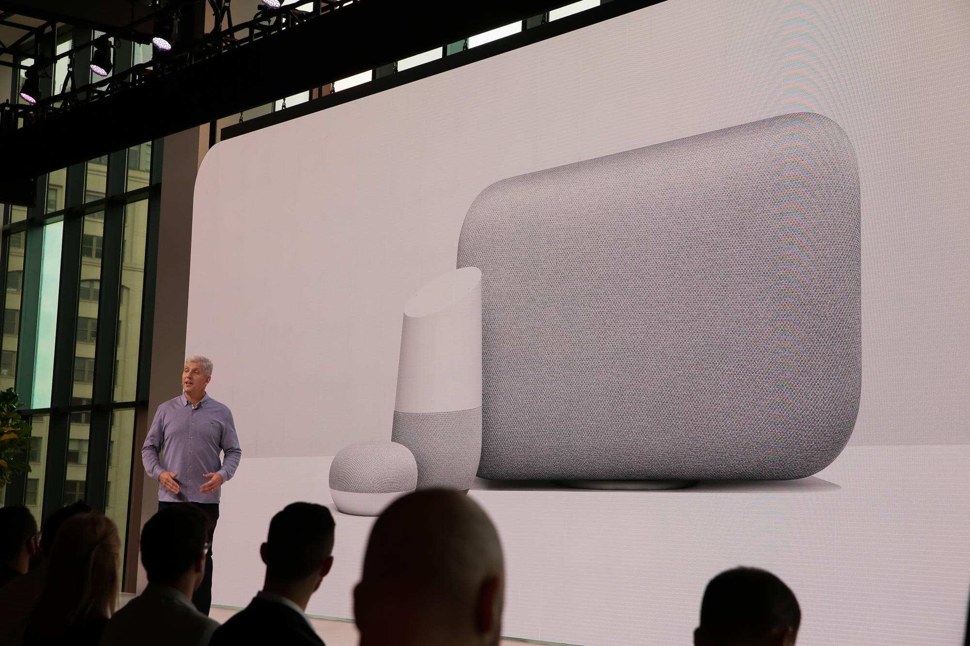 Google Hardware Chief Rick Osterloh announced new devices on Tuesday.