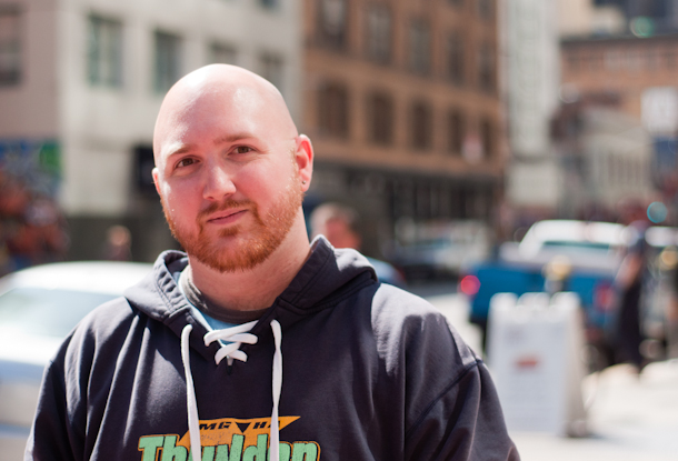 Cory Moll, who started an Apple retail union effort in the U.S. in 2011.
