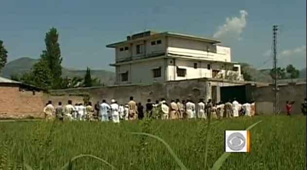 Osama bin Laden's home in Pakistan, raided by the U.S. military on Sunday.