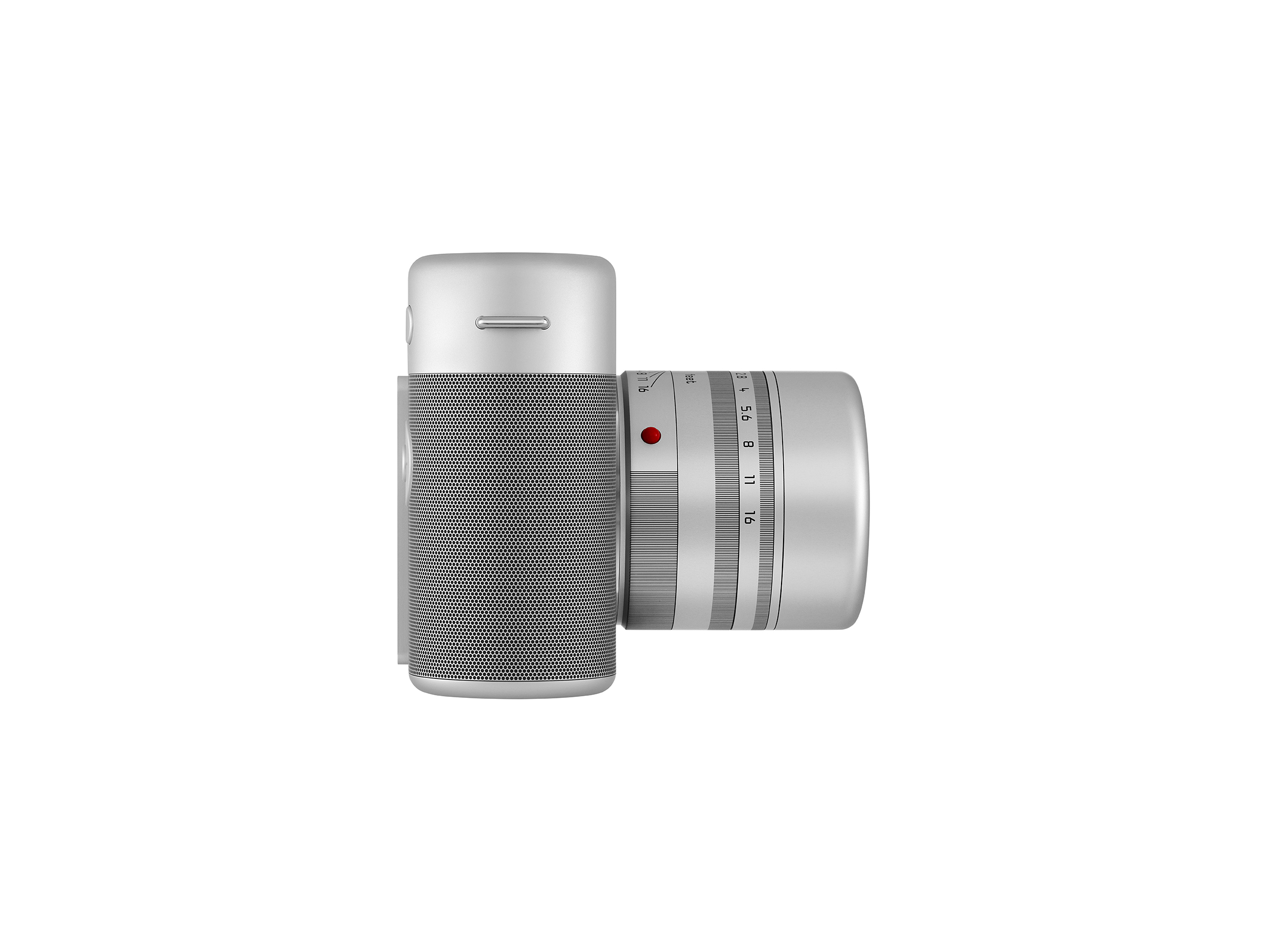 Leica's M (Red) camera - side